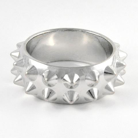 Spike Studded Round Bangle