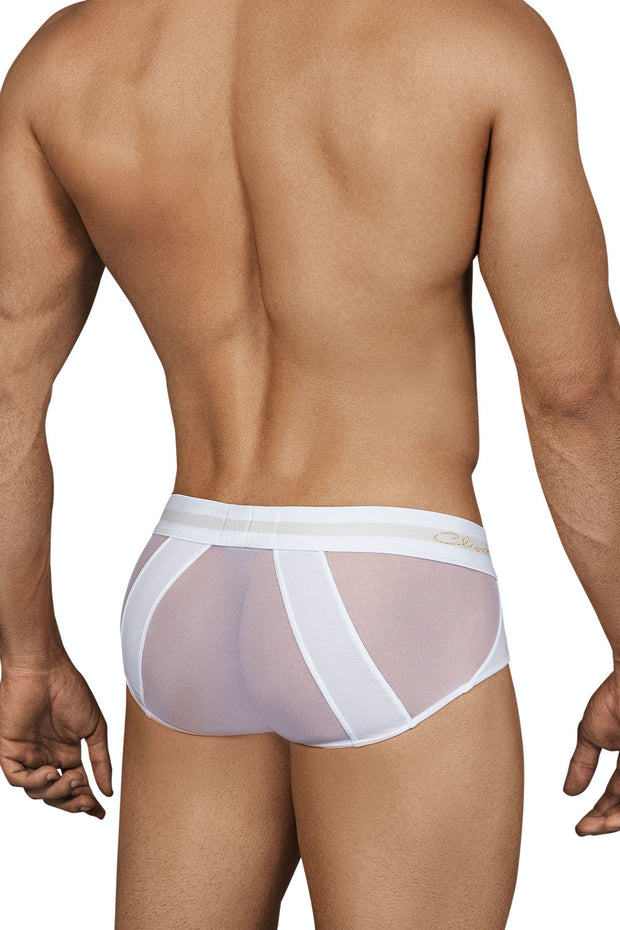 Clever Calm Piping Brief - Blanco