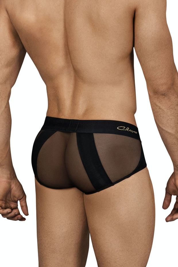 Clever Calm Piping Brief - Negro