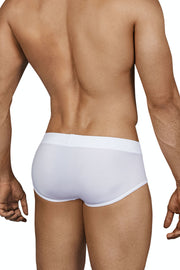 Clever Spiritual Piping Brief - Blanco