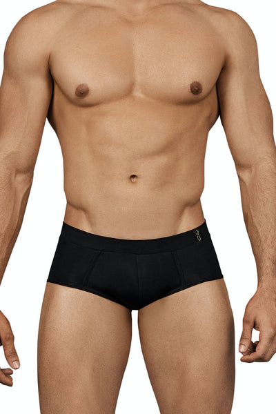 Clever Spiritual Piping Brief - Negro