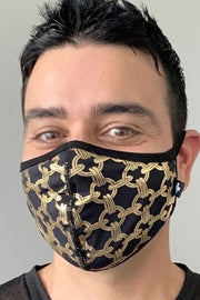 Andrew Christian Chain Glam Mask - Máscara