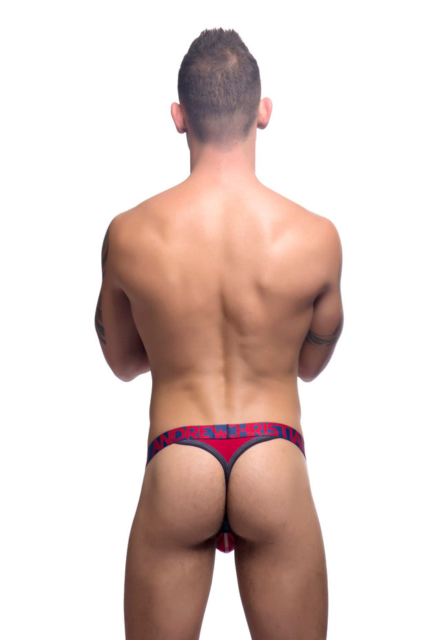 Andrew Christian Tanga - Rojo  - 90839-RED