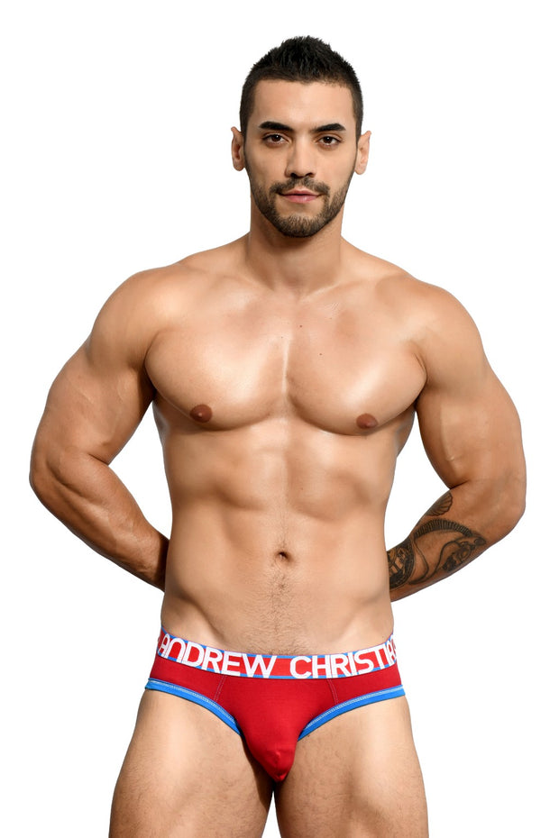 Andrew Christian Brief - Rojo  - 90967-RED