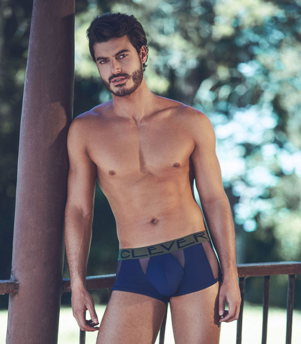 Clever Moda PRIVATE LATIN BOXER Azul