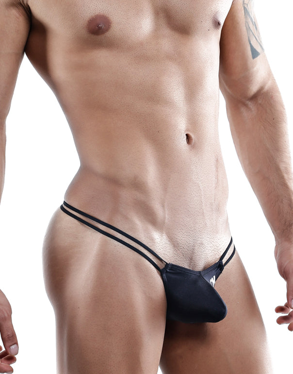 Cover Male  Thongs Negro- XL-CMK024
