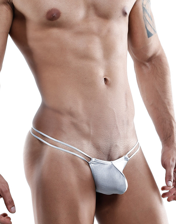 Cover Male  Thongs Gris- XL-CMK024