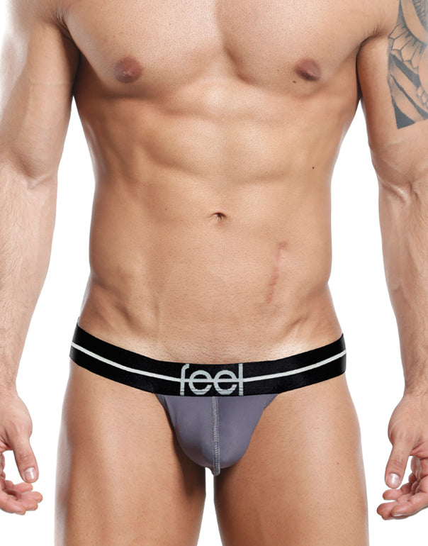 Feel  Thongs Gris- XL-FEK002