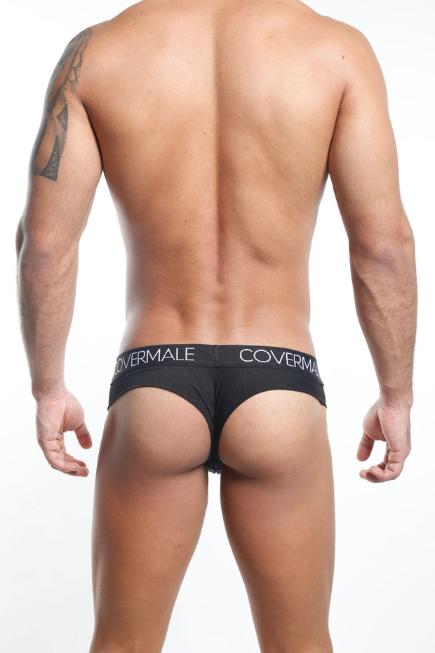 Cover Male Tanga - Thong  Negro  CMK019