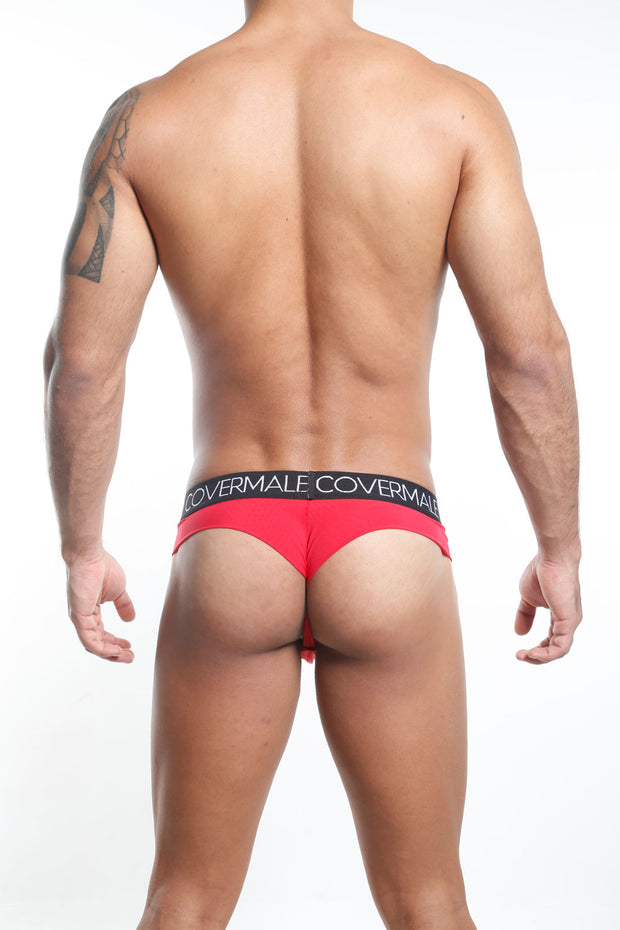 Cover Male Tanga - Thong  Rojo CMK019