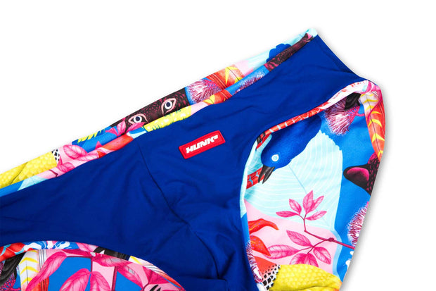 HUNK2 Bañadores Swimsquared Panthere Reversible Swim Briefs