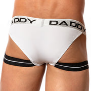 Daddy Underwear DDE030 Salon Jock White