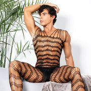 Secret Male SMC001 Bodystocking Black