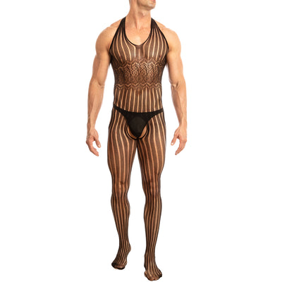Secret Male SMC002 Bodystocking Black