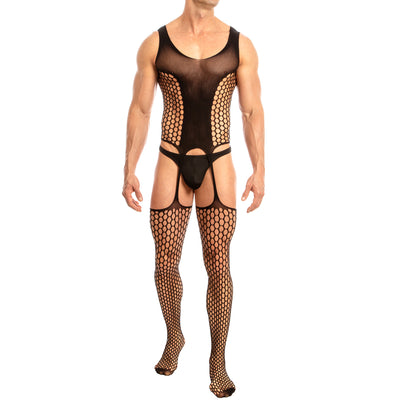 Secret Male SMC003 Bodystocking Black