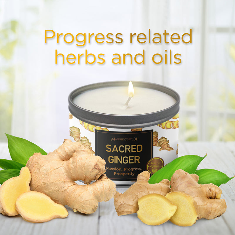 SACRED PLANTS Ginger Candle