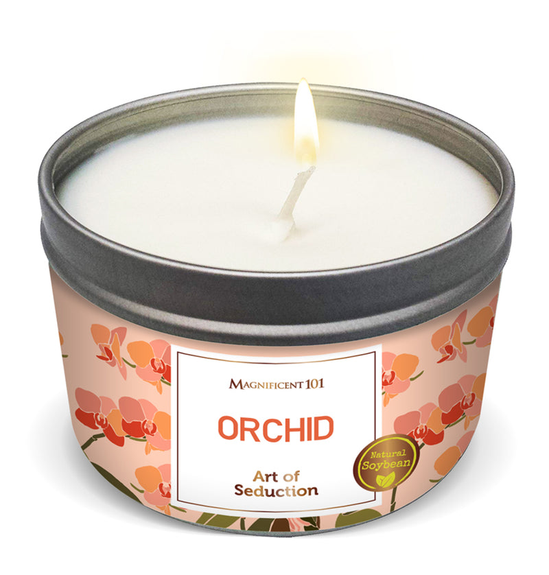 FLOWER INTENTION Orchid Candle