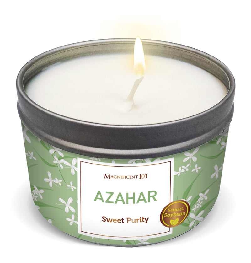 FLOWER INTENTION Azahar Candle
