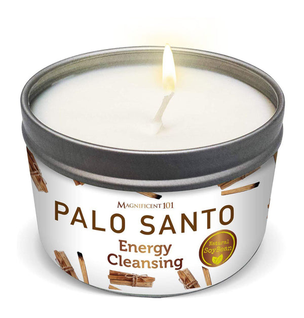 PALO SANTO Energy Cleansing Candle