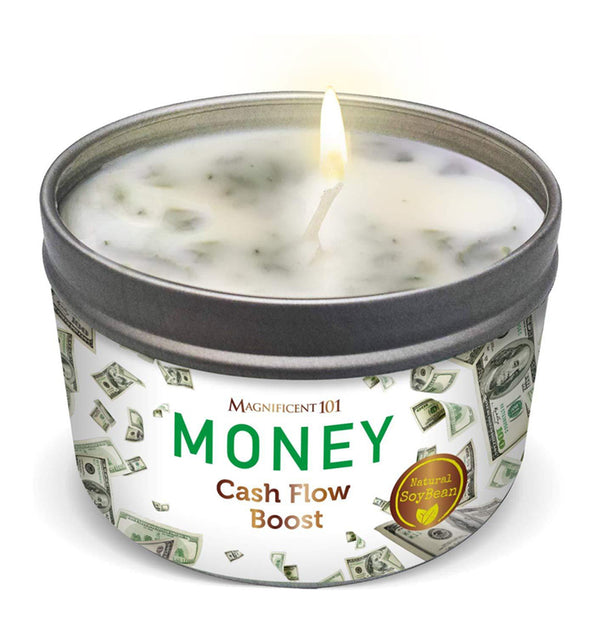 MONEY Cash Flow Boost Candle