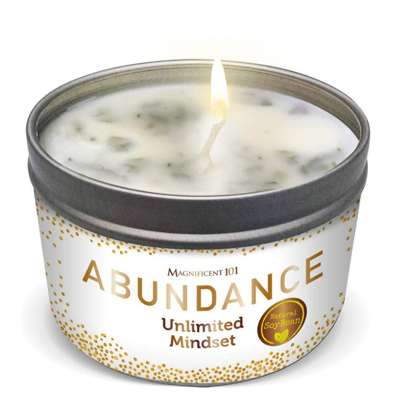 ABUNDANCE Unlimited Mindset Candle