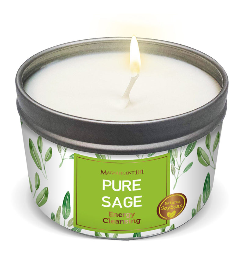 PURE SAGE New Candle