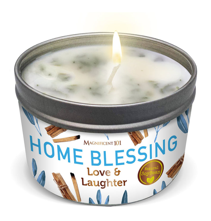 HOME BLESSING Love & Laughter Candle