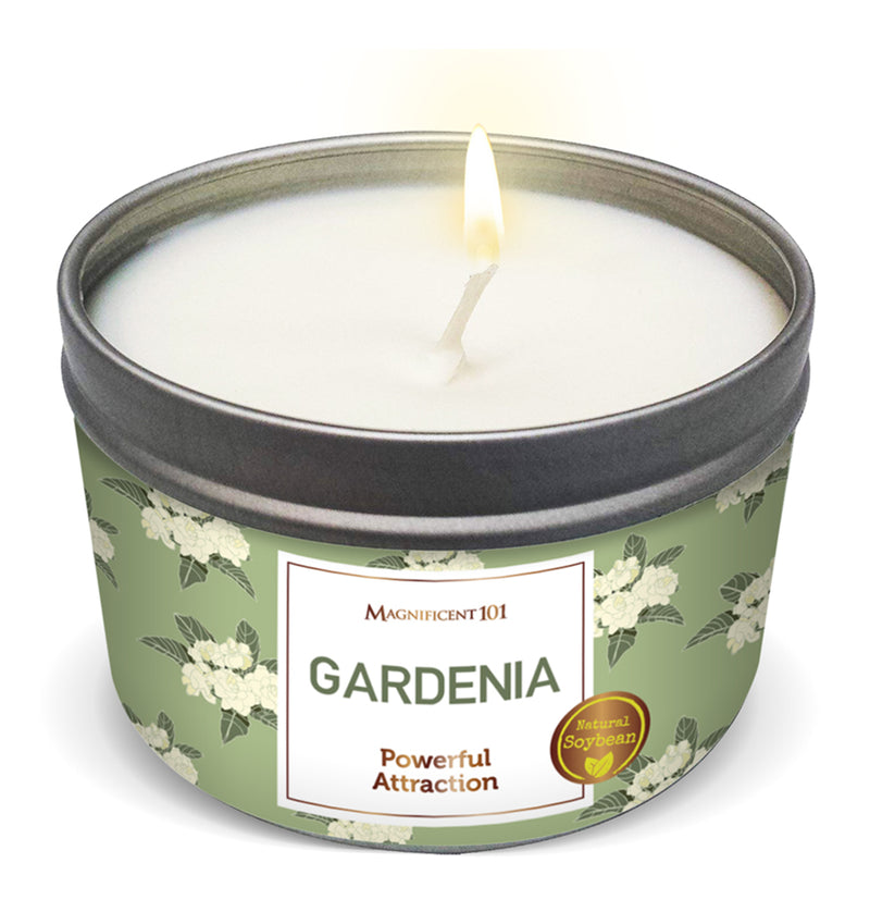 FLOWER INTENTION Gardenia Candle