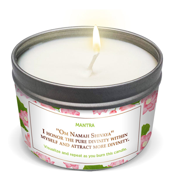 LOTUS FLOWER True Love & Passion Candle