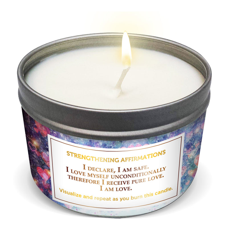 """I'M LOVED AS I AM"" Affirmation Candle"