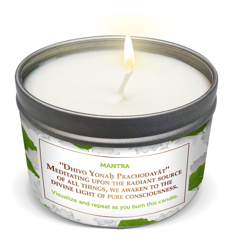 LOTUS FLOWER Purification & Meditation Candle