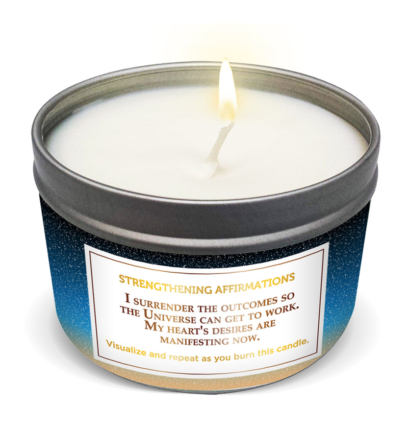 """MY ORDER IS ON ITS WAY"" Affirmation Candle"