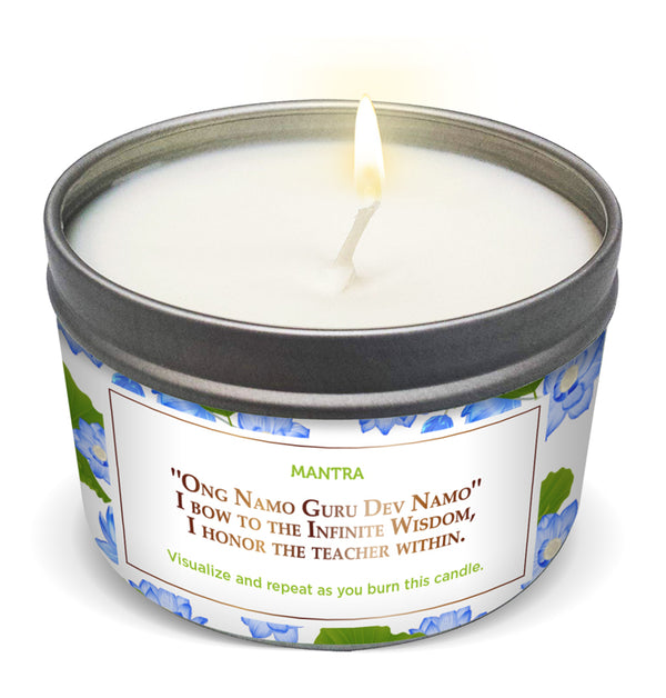 LOTUS FLOWER Intuition & Clarity Candle