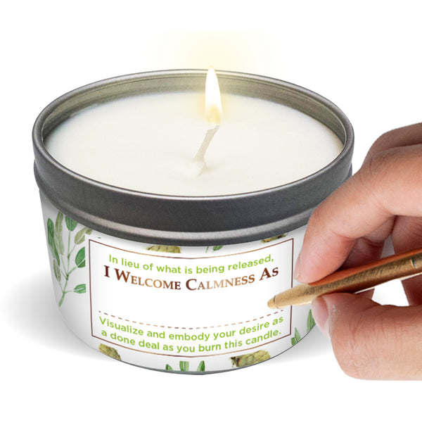 SAGE + CEDARWOOD Stress relief Candle