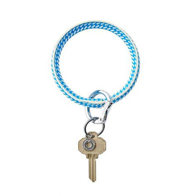 Big O Key Ring- Leather Riviera