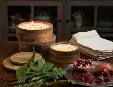 Red Currant Mountain Barrel Candle