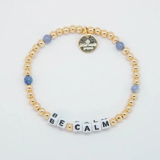 BE CALM- Gold Filled Bracelet