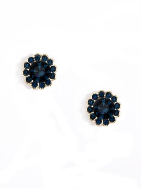 Small Crystal Stud Earring