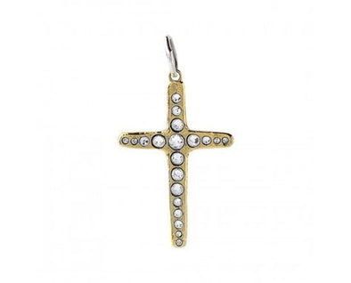 Amor Fati Single Cross Large Pendant