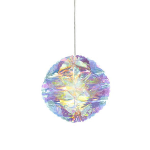 Iridescent Honeycomb Holiday Decoration