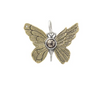 Ascension Butterfly Charm- Pyrite