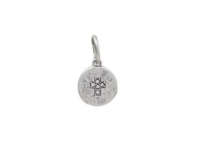 Illuminations Charm- Cross- Sterling Silver