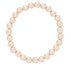 Classic Gold Filled 7mm Bead Bracelet