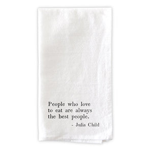 Napkin Set of 4- People Who Love To Eat