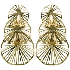 Aviva Earrings- Gold