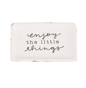 Trinket Tray- Enjoy The Little Things