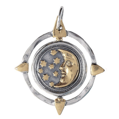 Compass Spinner Pendant - Another Wish
