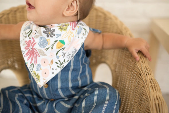 Bandana Bib Set of 4- Olive