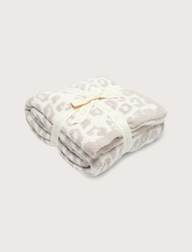 Cozy Chic Throw Blanket in the Wild- Cream / Stone