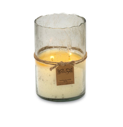 Red Currant Clear Hurricane Candle